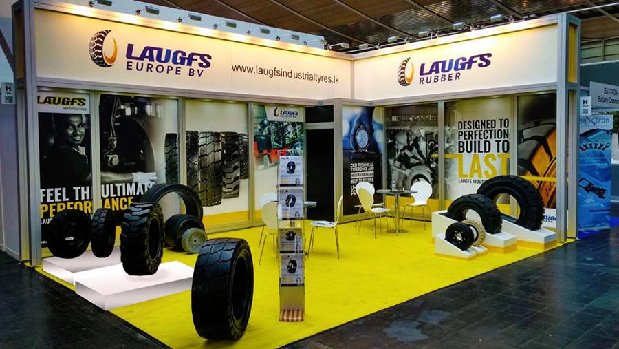 LAUGFS EUROPE BV presented its comprehensive portfolio